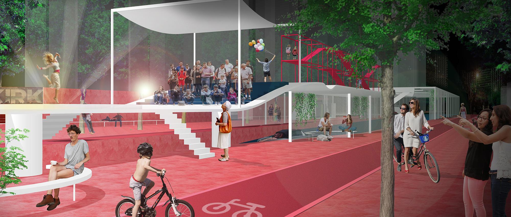 展开的长卷:西城区街区、胡同公共空间创意设计竞赛