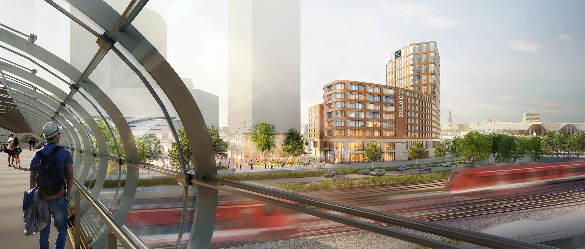 新形式砖构建筑:汉堡港口新城易北河桥会议酒店