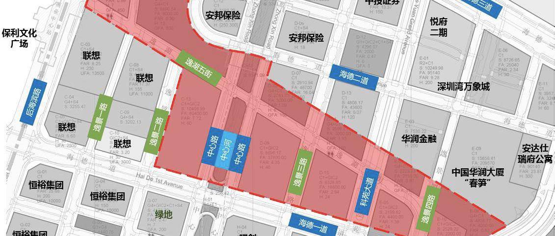 深圳湾文化广场BC区建筑设计