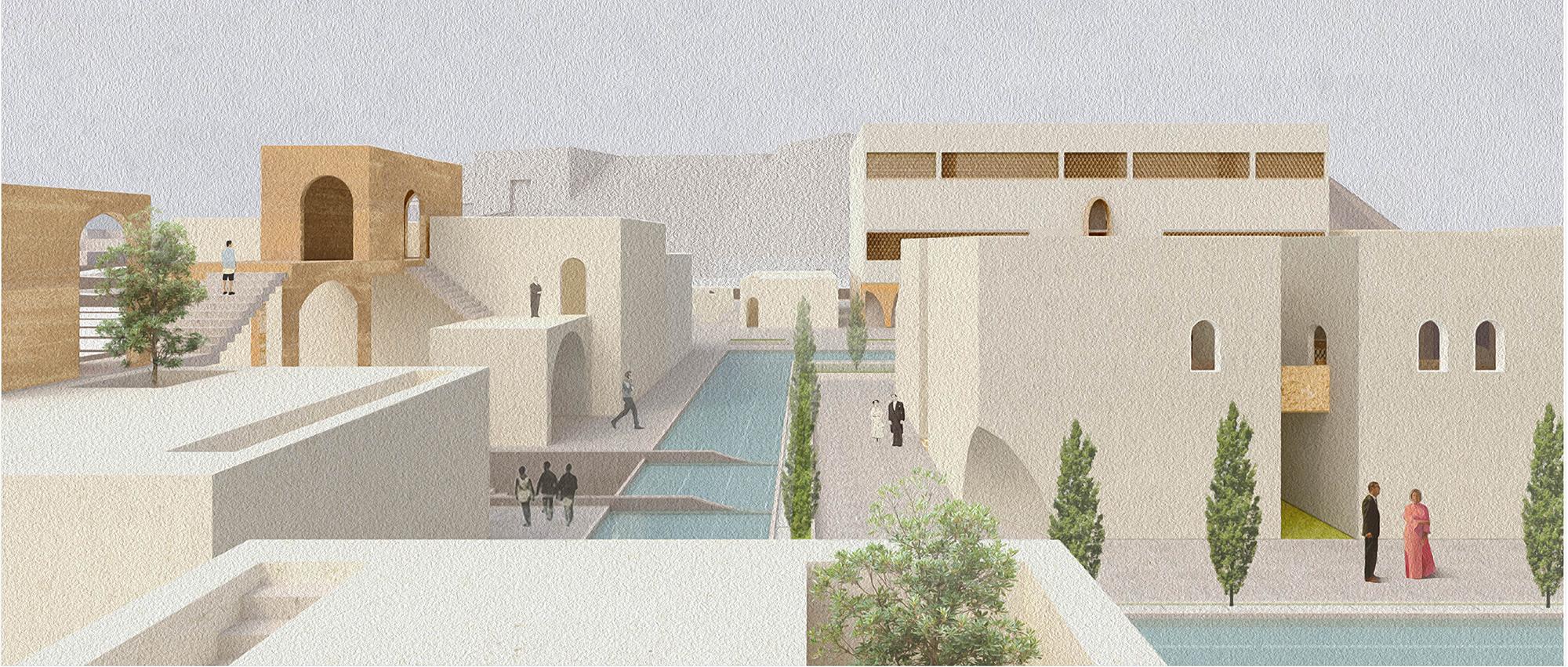 """残垣塑明:""""记忆-重聚叙利亚""""公共建筑国际竞赛"""