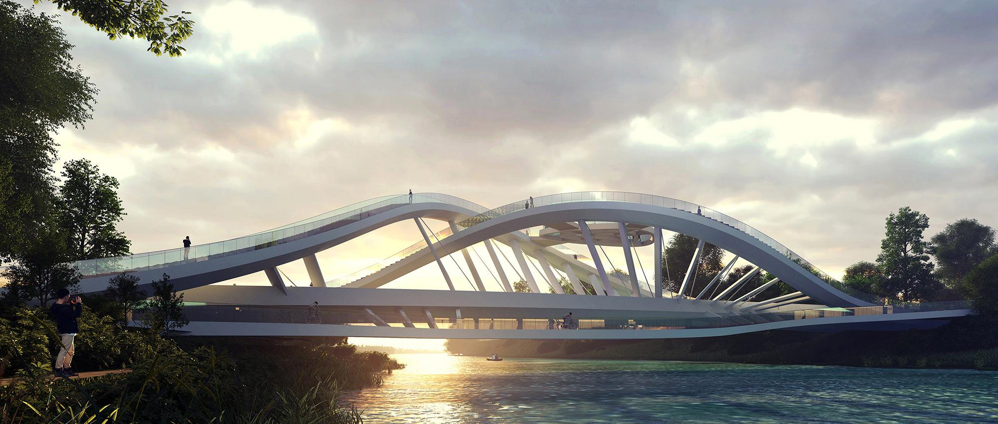 多维桥梁:巴尼亚卢卡多拉克社区桥梁国际竞赛
