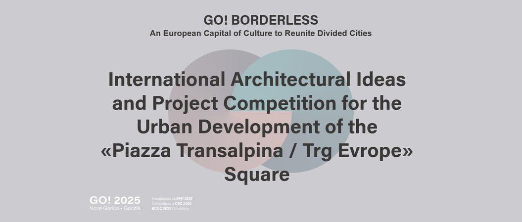 ECoC 2025国际创意大赛:意大利与斯洛文尼亚国境广场设计竞赛