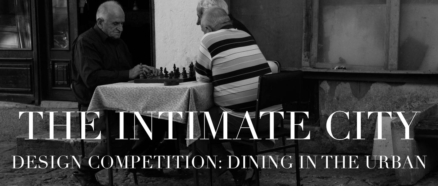亲密城市:就餐于城设计竞赛