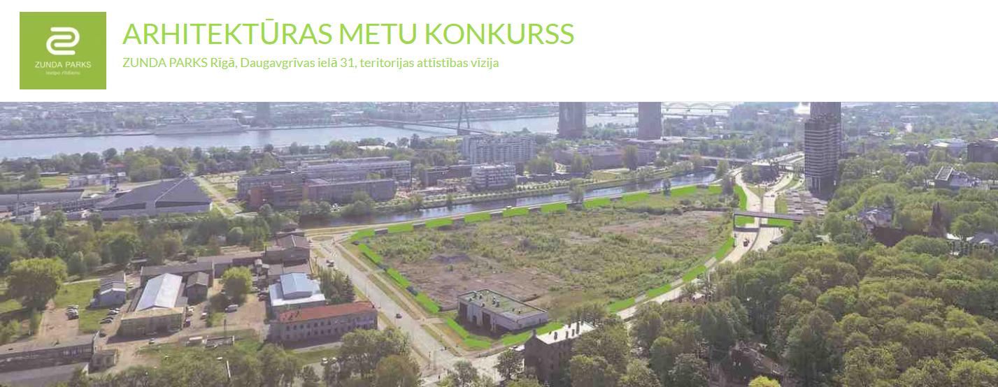 拉脱维亚里加 Zunda 公园空间发展愿景国际设计竞赛