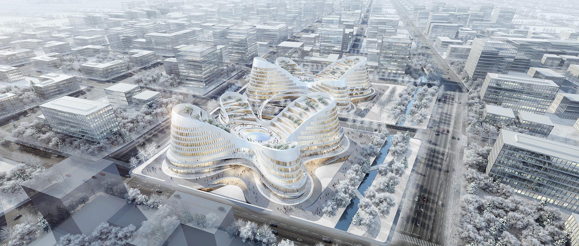 """再定义的雄安""""综合医院"""":雄安建筑设计大赛城市公共管理与服务类(专业组)二等奖"""