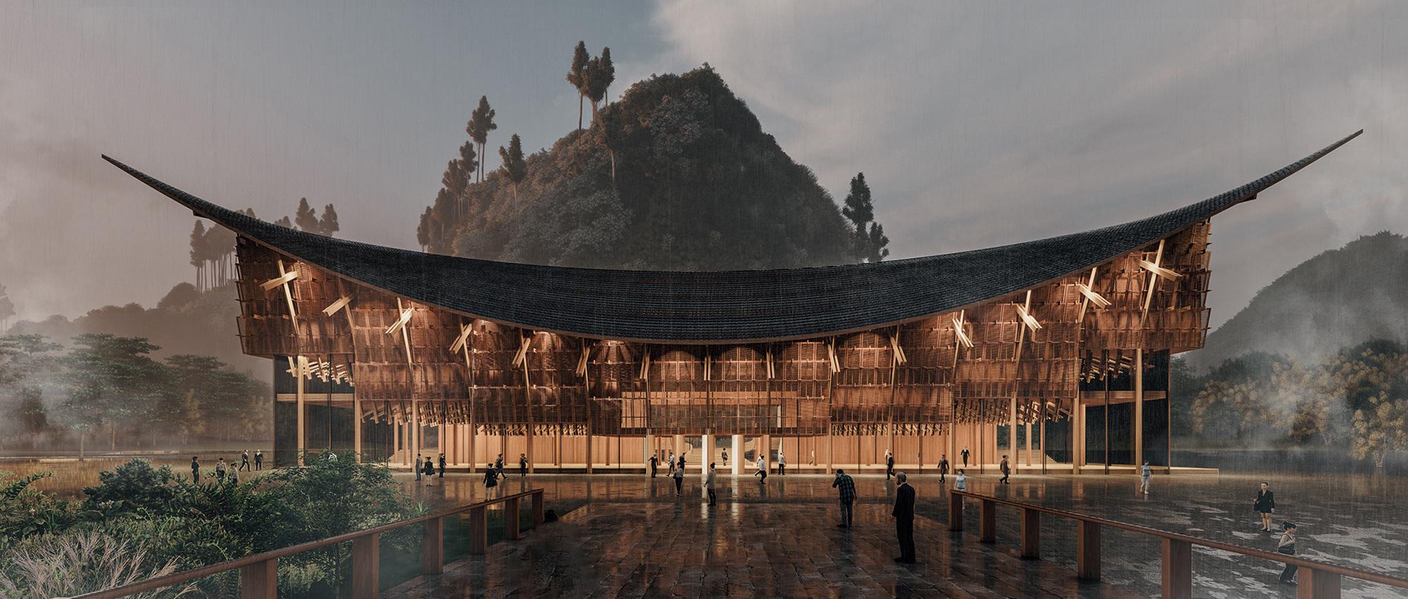木构新思:神农大峡谷景区游客中心竞赛一等奖