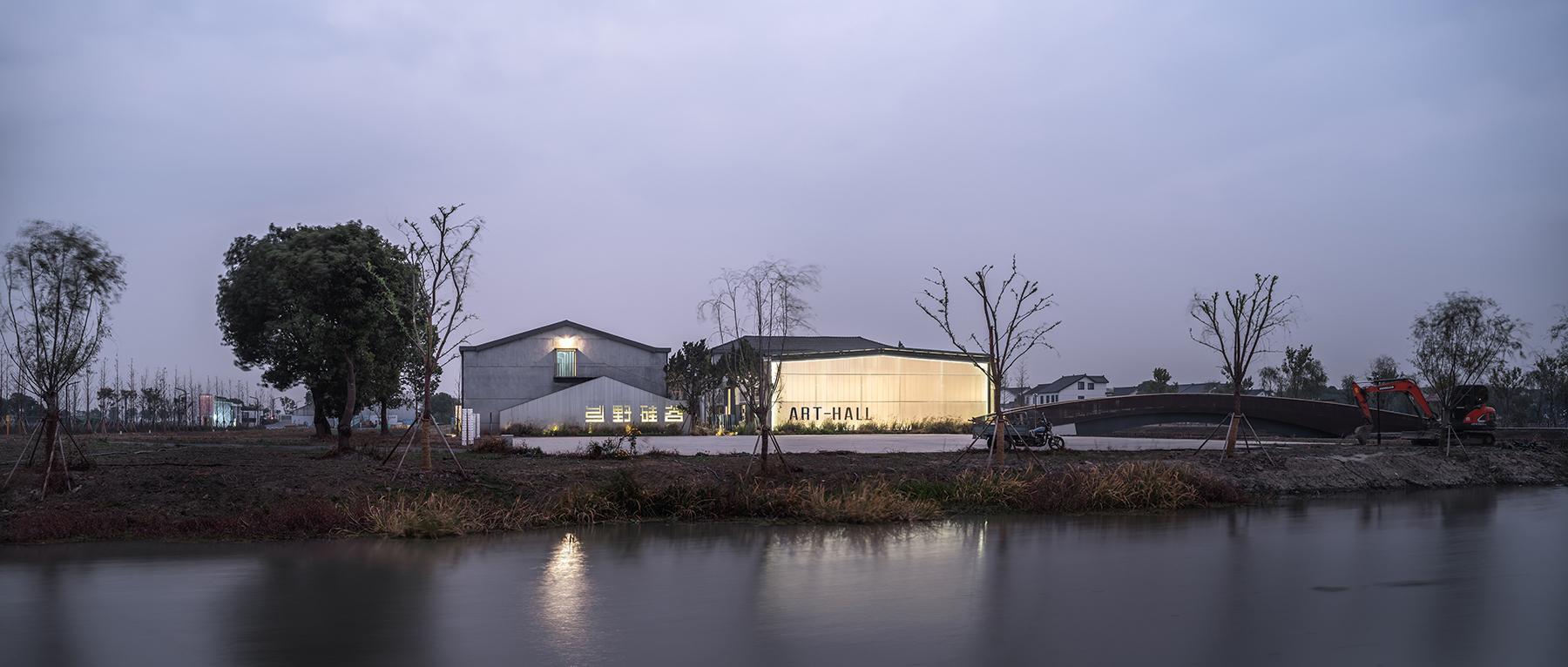 研山建筑:村落中的厂房改造