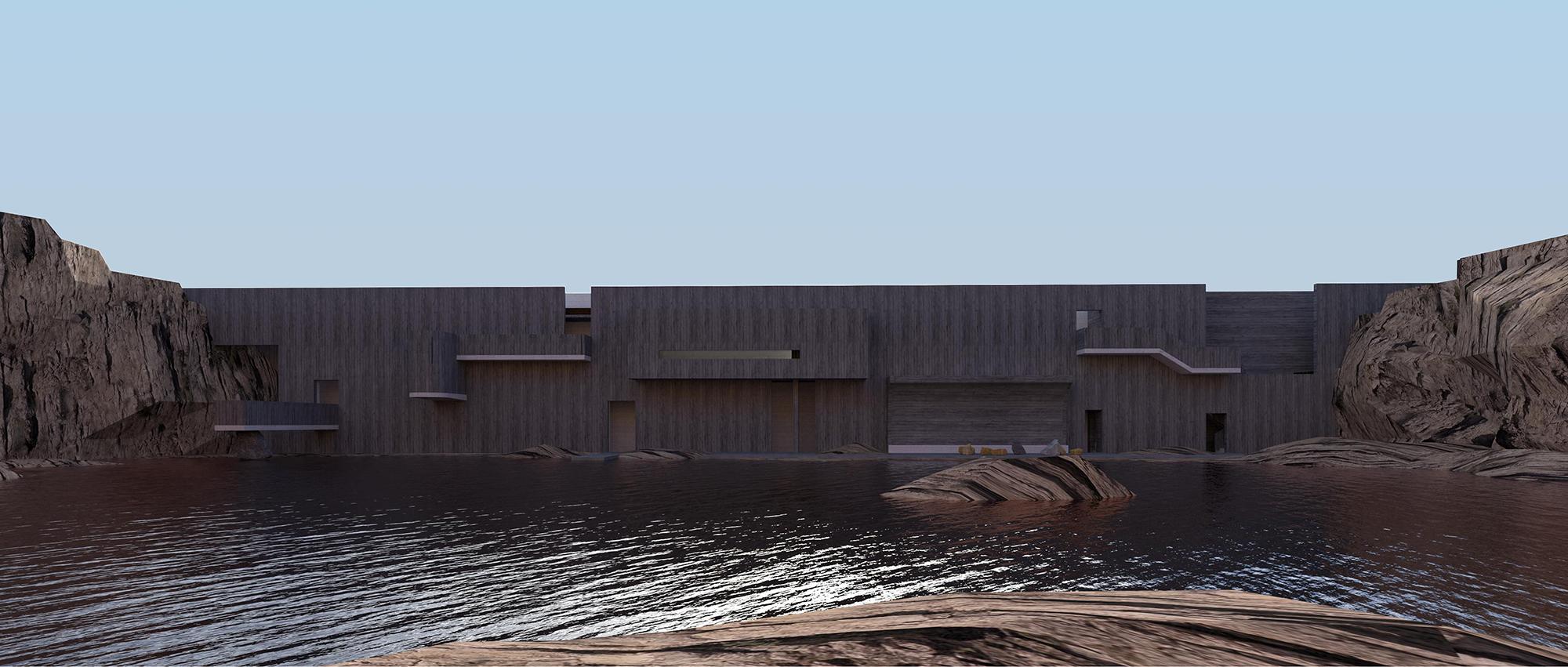 """矛盾之""""间"""" : Reviving Mines山东矿坑修复国际竞赛提案"""