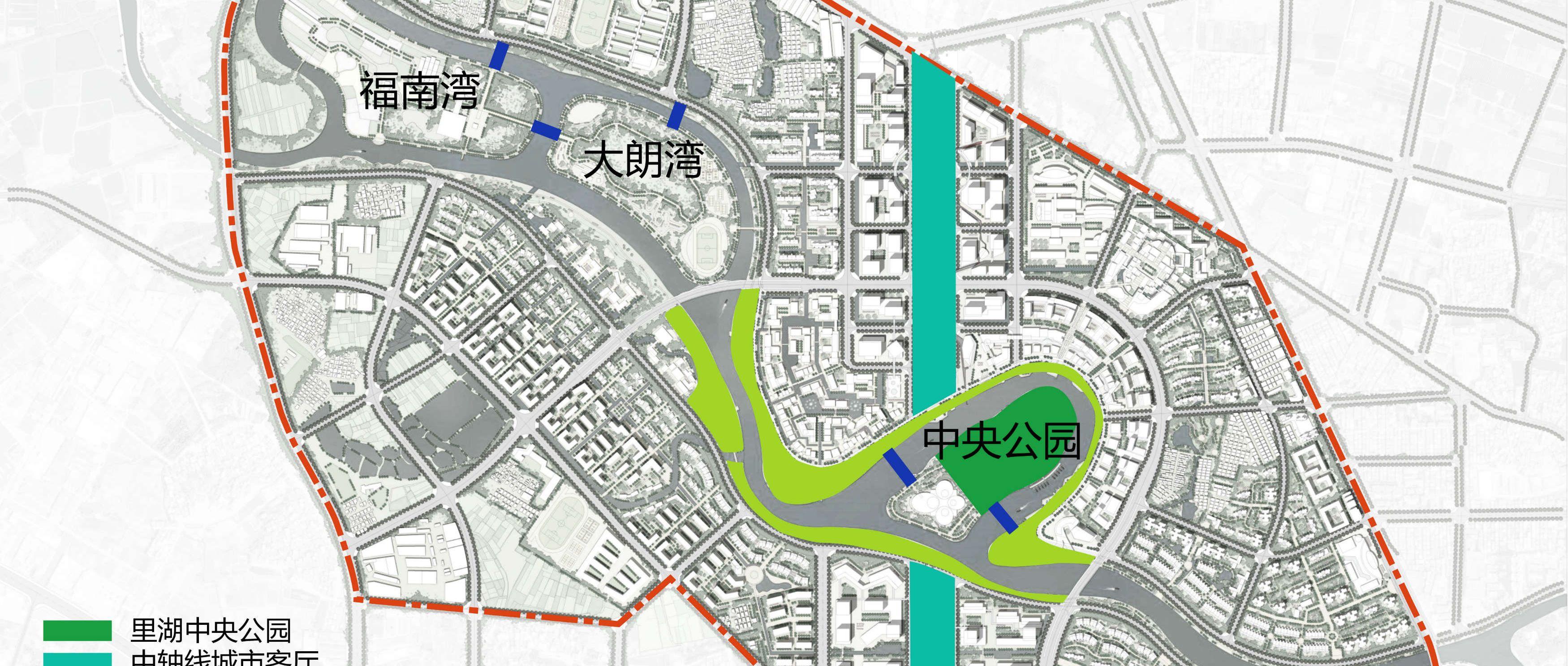 里湖新城核心区景观方案设计国际竞赛
