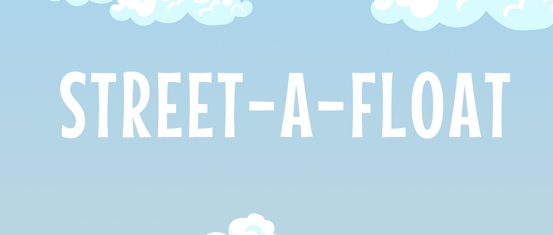 """""""漂浮街市(STREET-A-FLOAT)""""设计竞赛"""