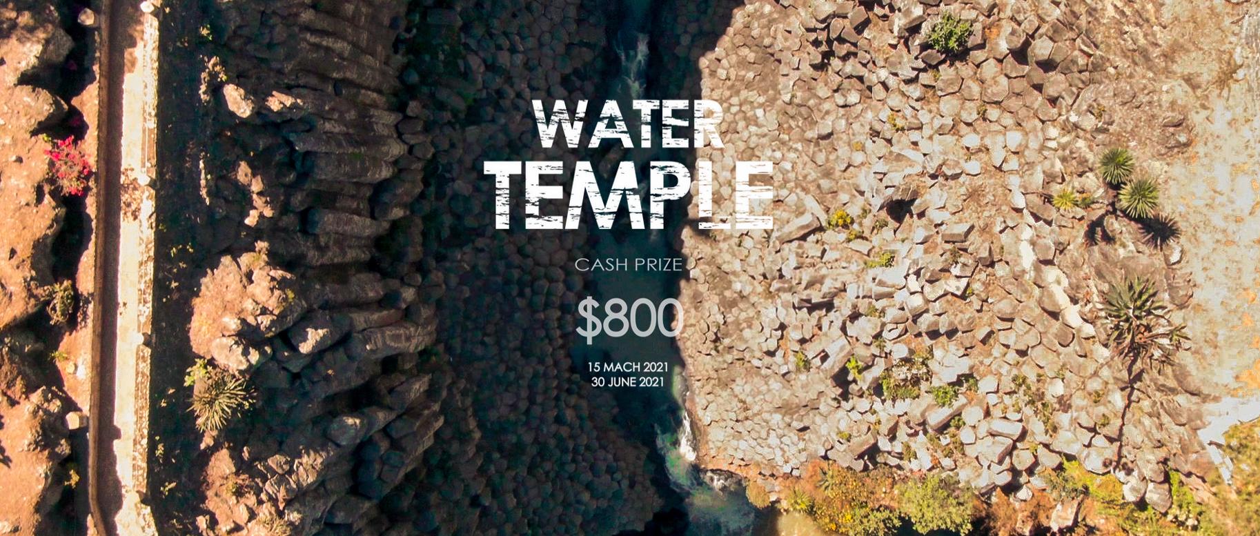 """""""水上庙宇(Water Temple)""""设计竞赛"""