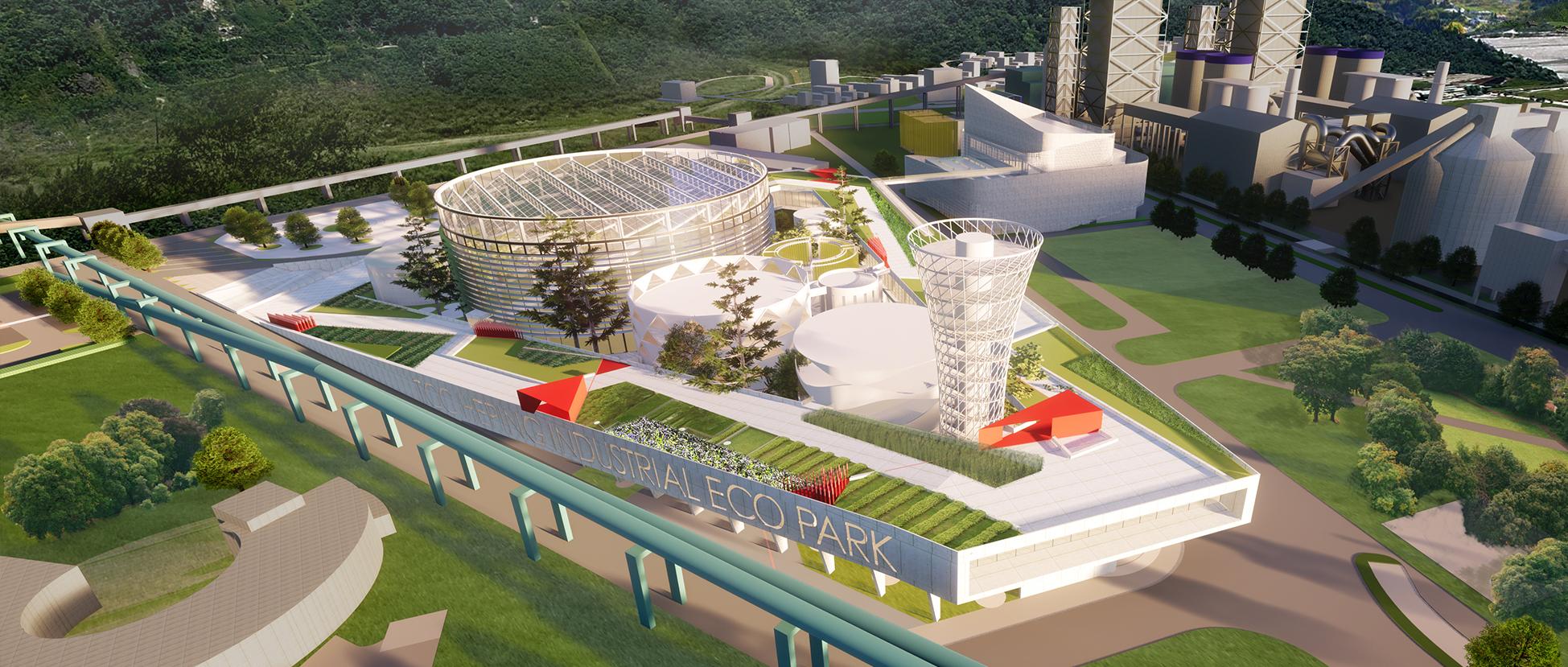 可持续更新:台泥和平开放生态循环工厂概念设计竞赛初选优胜提案