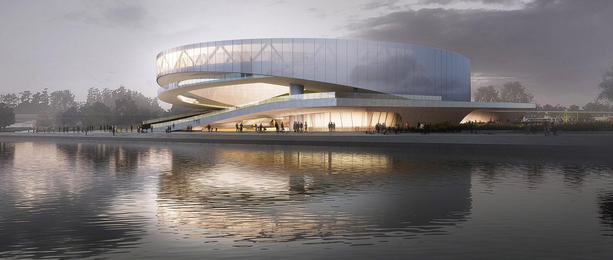 心之所向_THE HEART OF A PLACE : 新加坡先贤纪念馆竞赛全球五强入围提案