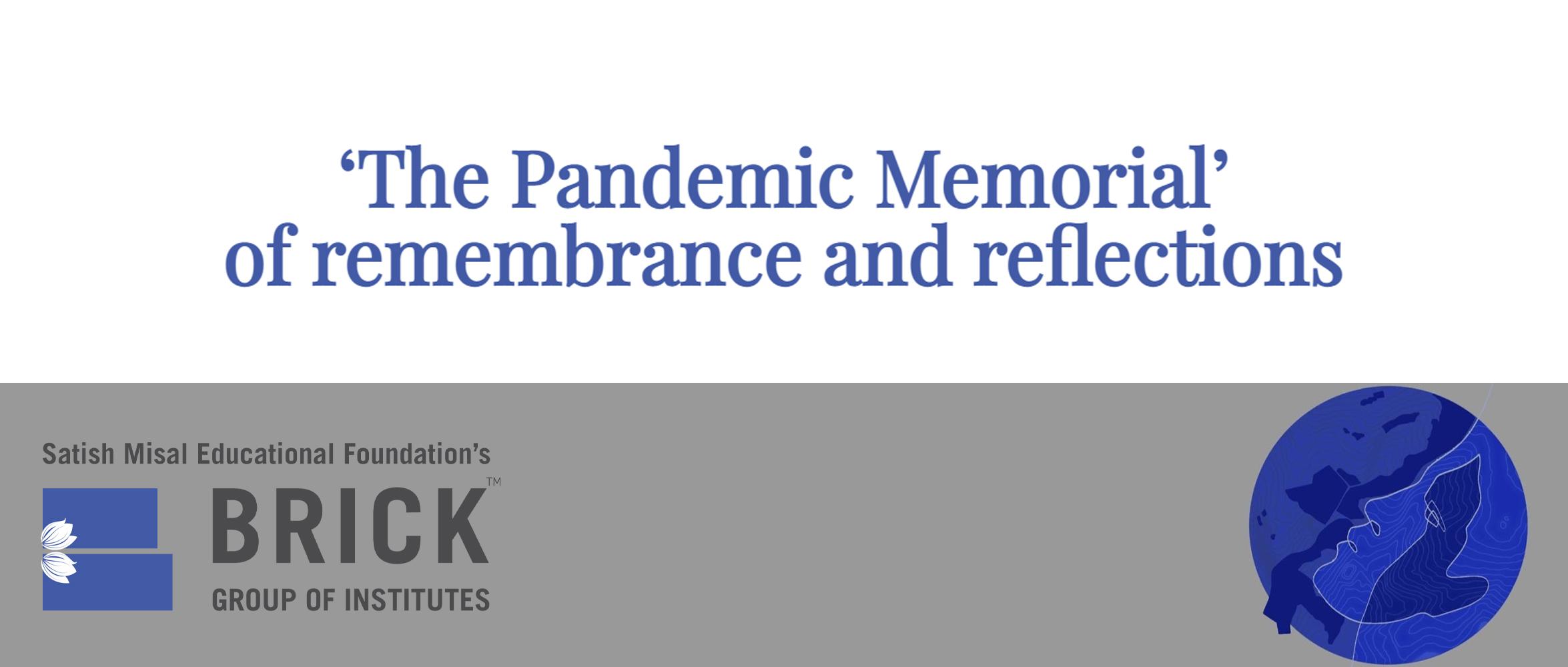 """""""疫情纪念装置(The Pandemic Memorial)""""设计竞赛"""