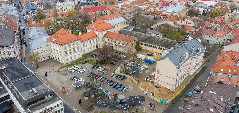 立陶宛国家艺术博物馆国际公开建筑竞赛:改造 Jonušas Radvila 宫殿建筑群