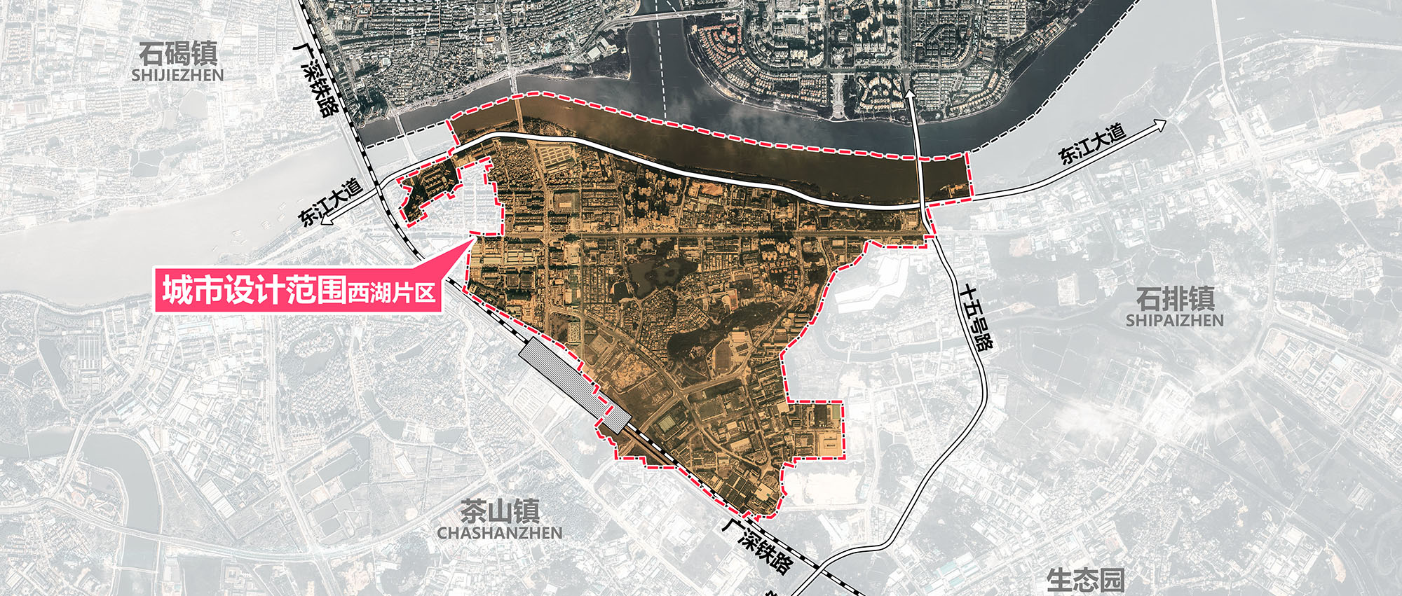 石龙镇西湖片区城市设计竞赛